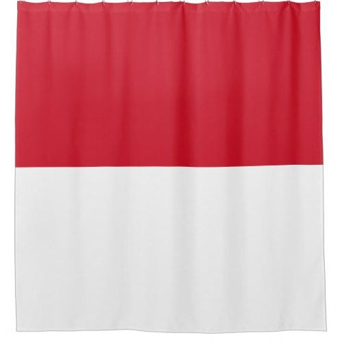 Indonesia Flag Shower Curtain Zazzle Com Custom Shower Curtains Indonesia Flag Custom Shower