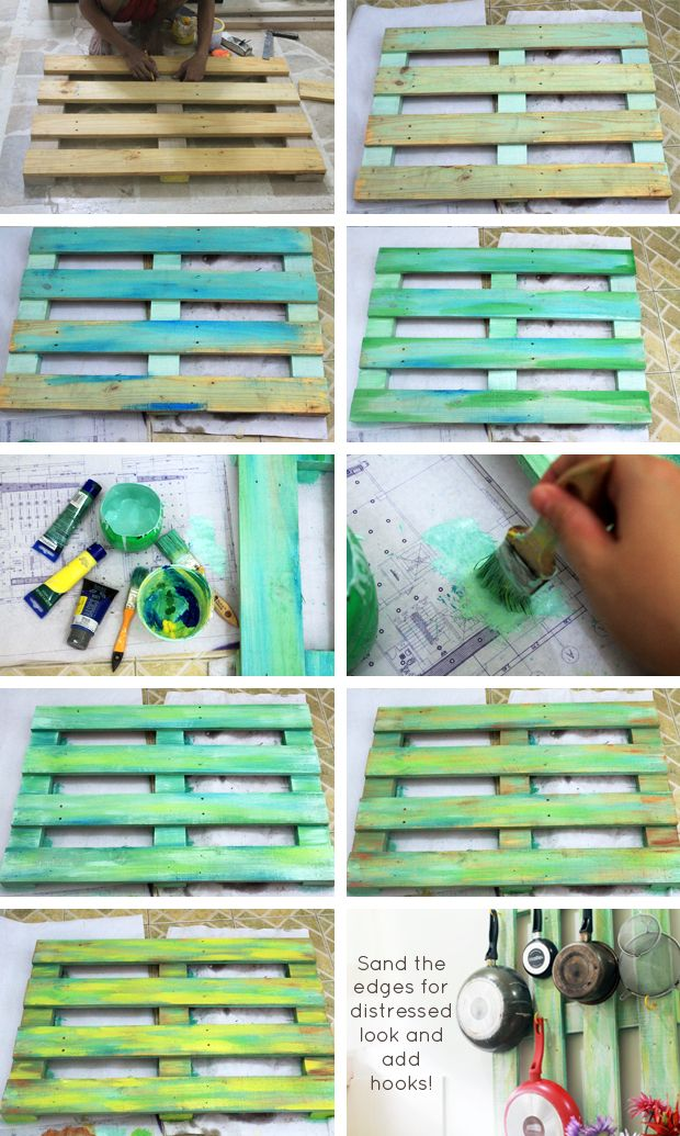 Wooden Pallet Art Ideas Painting For Home Wall Furniture Diy. How To Paint Wooden Pallets   What Else Michelle   pallet wood