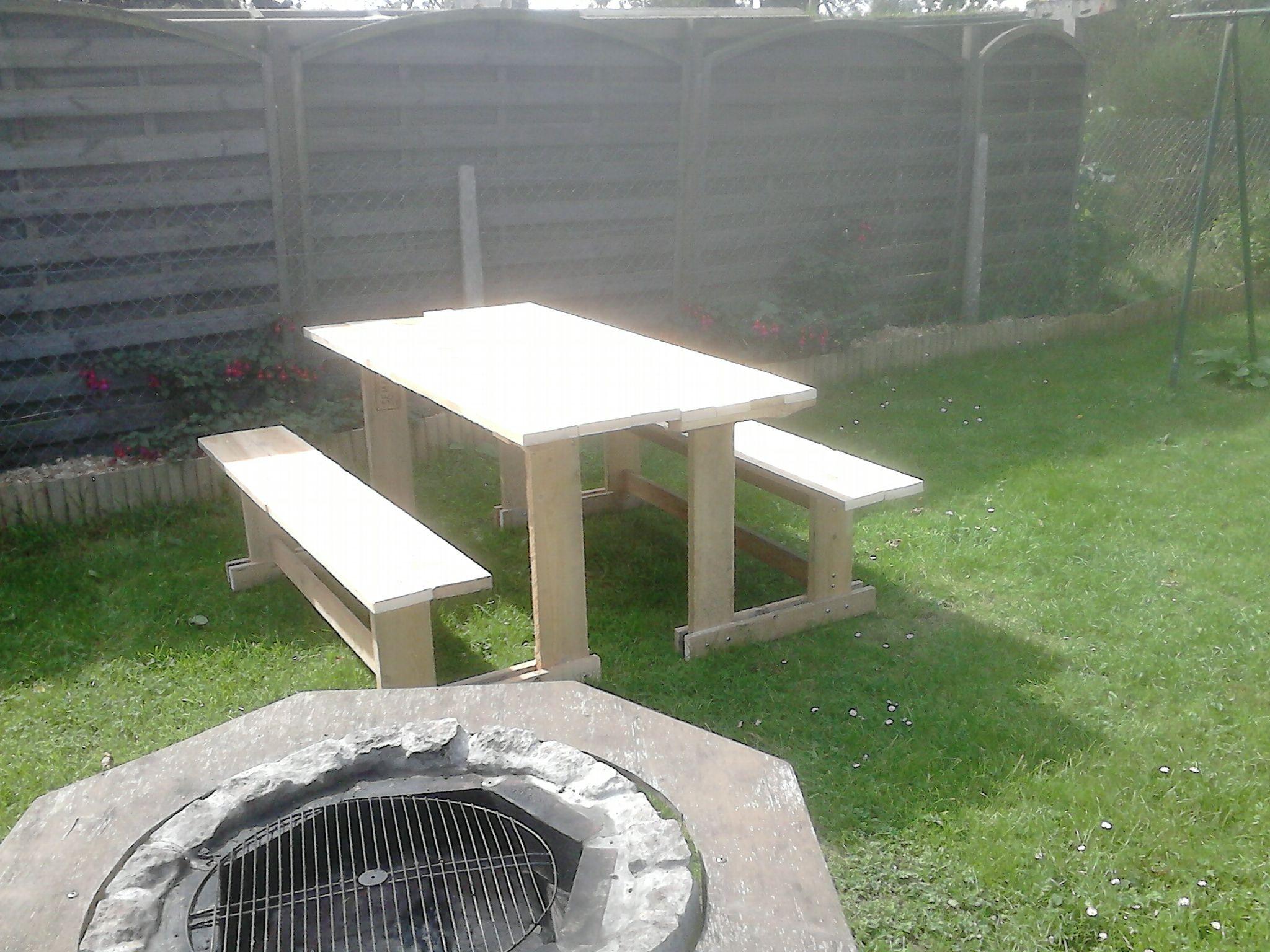 le banc table Instructions de montage Do it yourself