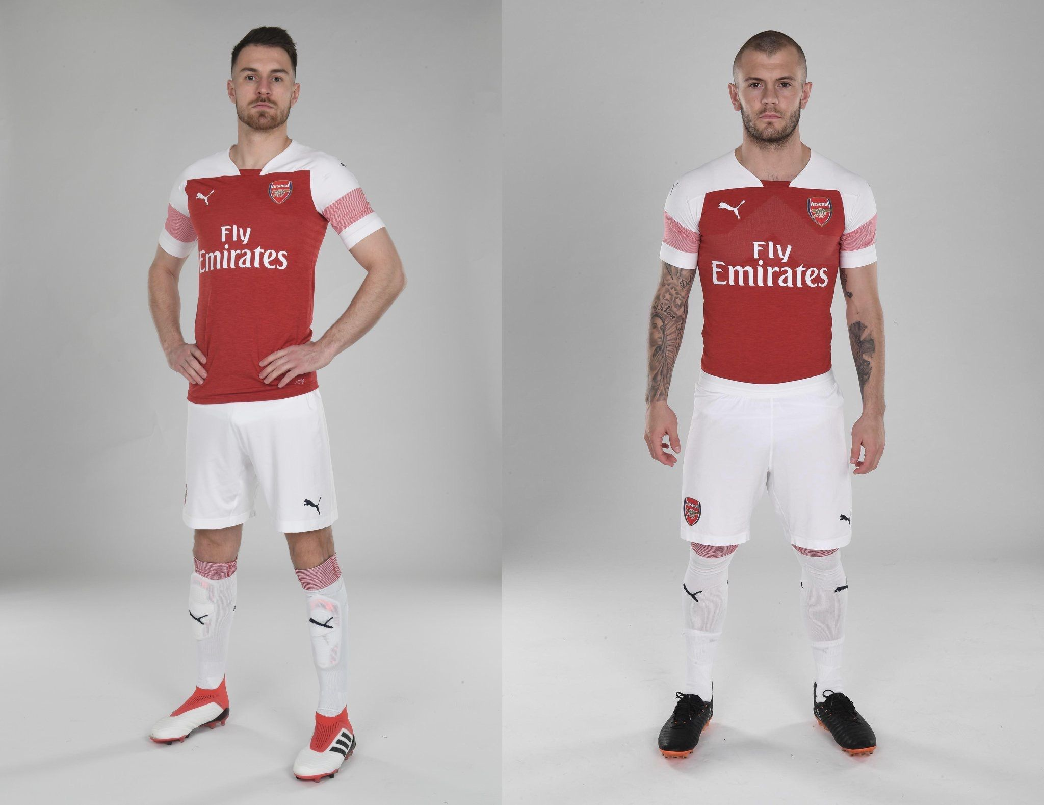 buy popular b87e9 0e0a3 Arsenal 2018/2019 Home Kit.   Latest Football Kits ...
