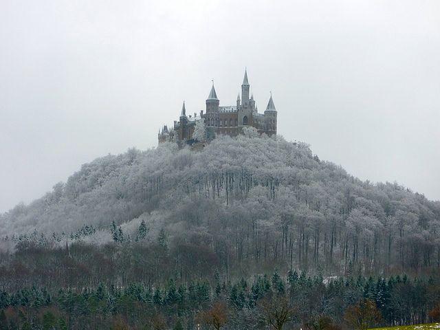 Hohenzollern Castle Just South Of Stuttgart Germany Hohenzollern Castle Castle Places To See