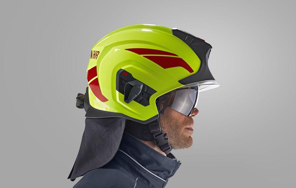 Firefighting helmet HEROS-titan | Full protection helmet ...