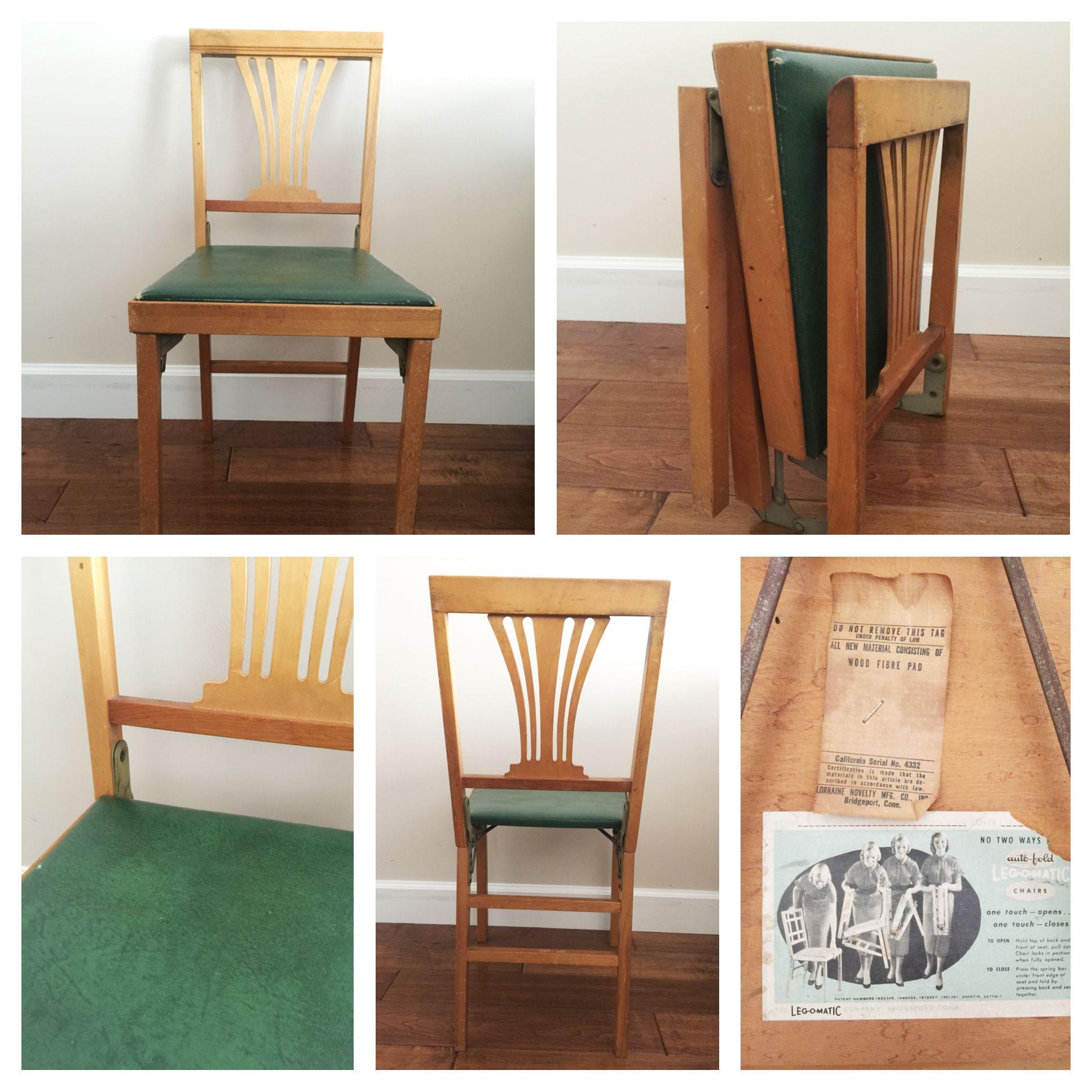 Magnificent Vintage Leg O Matic Solid Wood Travel Chair Authentic Retro Inzonedesignstudio Interior Chair Design Inzonedesignstudiocom