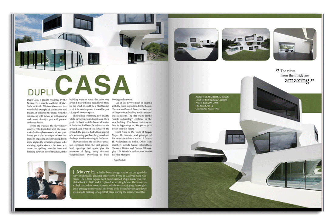Pics For Architecture Design Magazine Layout