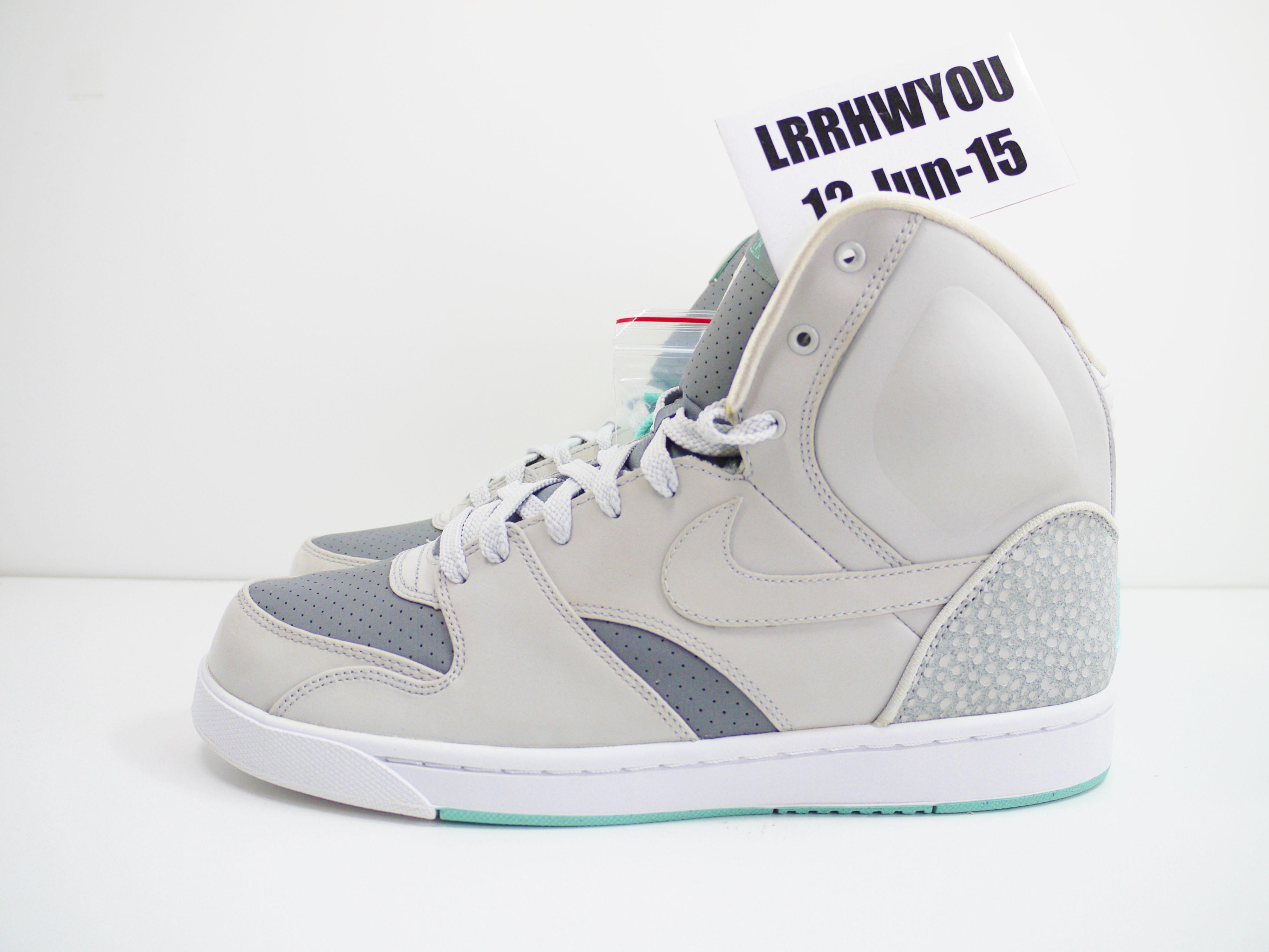 766f414e888 Nike RT1 High 354034 002 Size 9 neutral grey   neutral grey   green mist    cl g