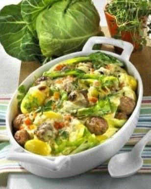 Photo of Pointed cabbage casserole with dumplings recipe DELICIOUS