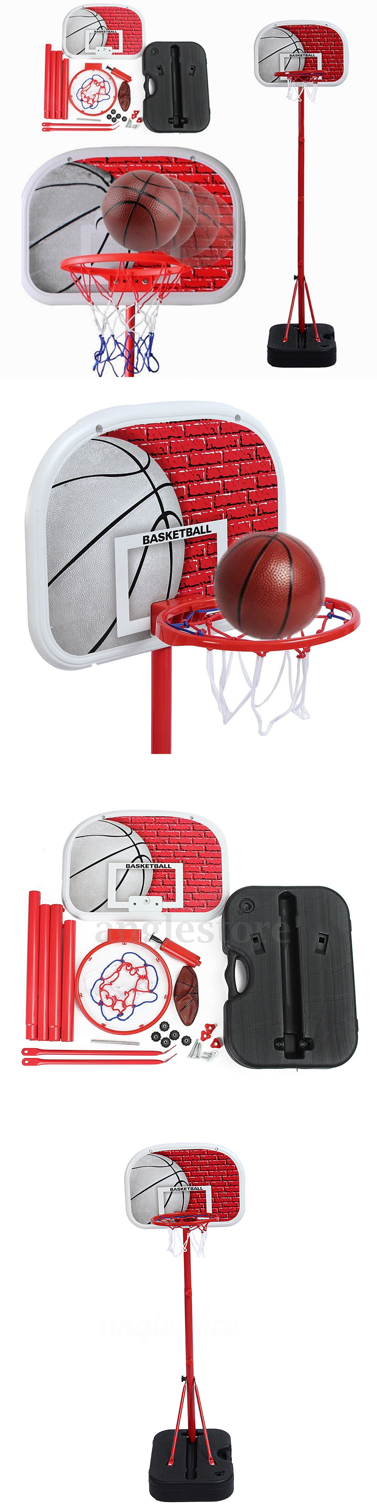 backboard systems 21196 basketball hoop system stand kid indoor