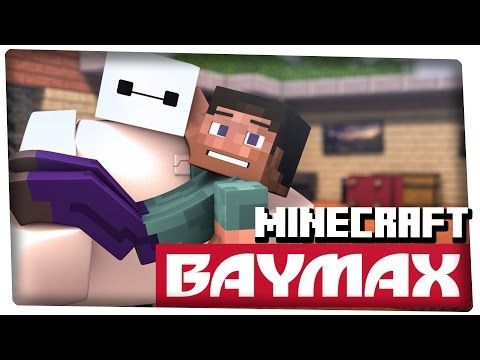 Baymax In Minecraft A Minecraft Animation Big Hero 6 Reference