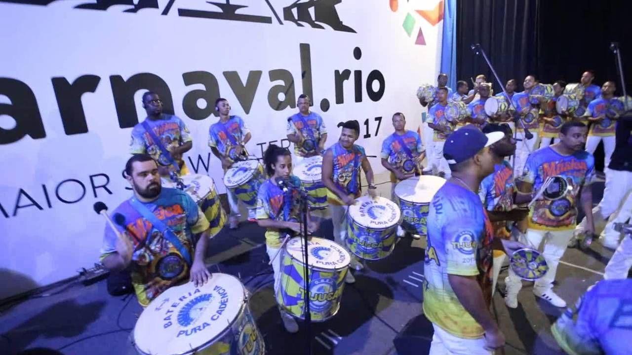 Gravação Bateria Unidos da Tijuca para o CD 2017 . --  Ajoutée le 24 oct. 2016 Gravação da Bateria da Unidos da Tijuca para o CD das Escolas de Samba, carnaval 2017