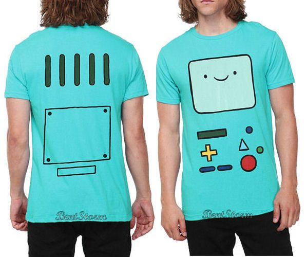 NEW Adventure Time With Finn & Jake BMO Beemo Face Tee T-Shirt NWT Mens XS-3X | eBay