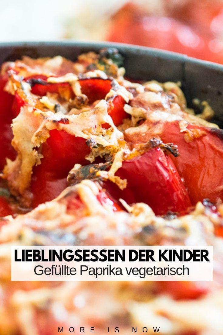 Eine Prise Sommer – Würzig gefüllte Paprika, ein Familienrezept im Cannelloni Style – More is Now