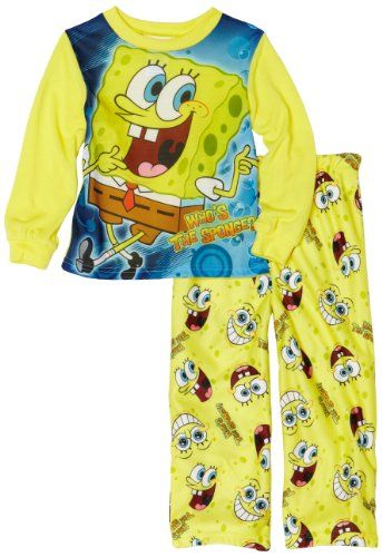 67cf1b123 Ame Sleepwear Boys 2-7 Spongebob 2 Piece Set  14.24 -  19.99 ...