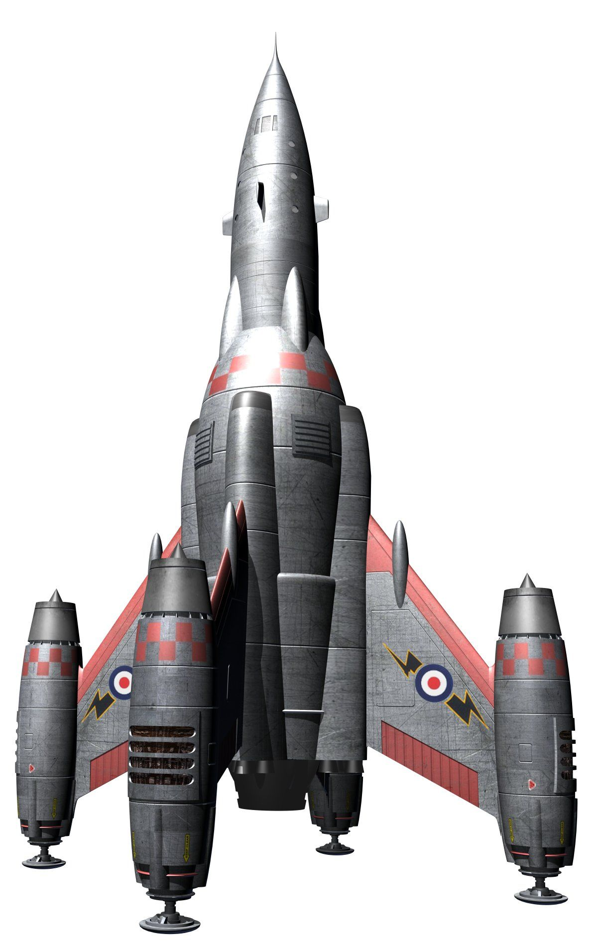 Rocketship (revised) by Paul-Lloyd.deviantart.com on ...