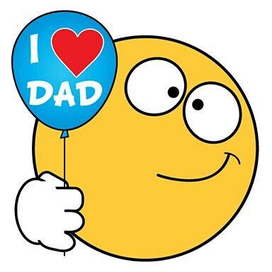 I <3 Dad :-) | Emoji pictures, Smiley quotes, Smiley