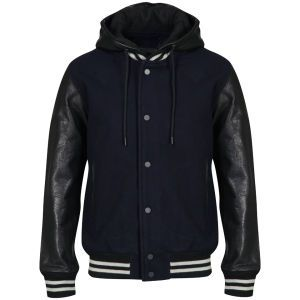 Marc by Marc Jacobs Pensacola Bomber Jacket: Navy