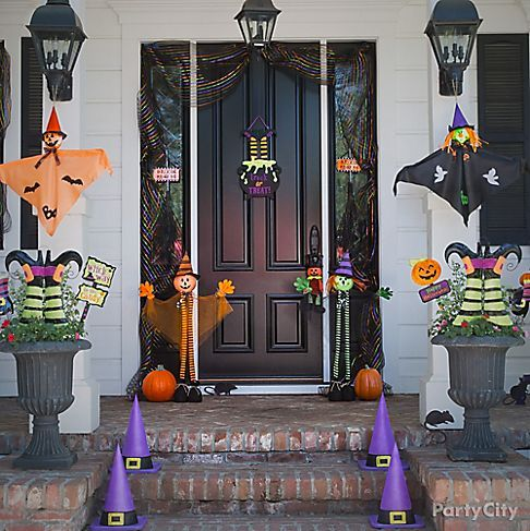 kid friendly halloween decorating party city