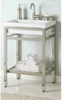 Empire Industries Sbt21sn 21 Inch Bath Console With Optional