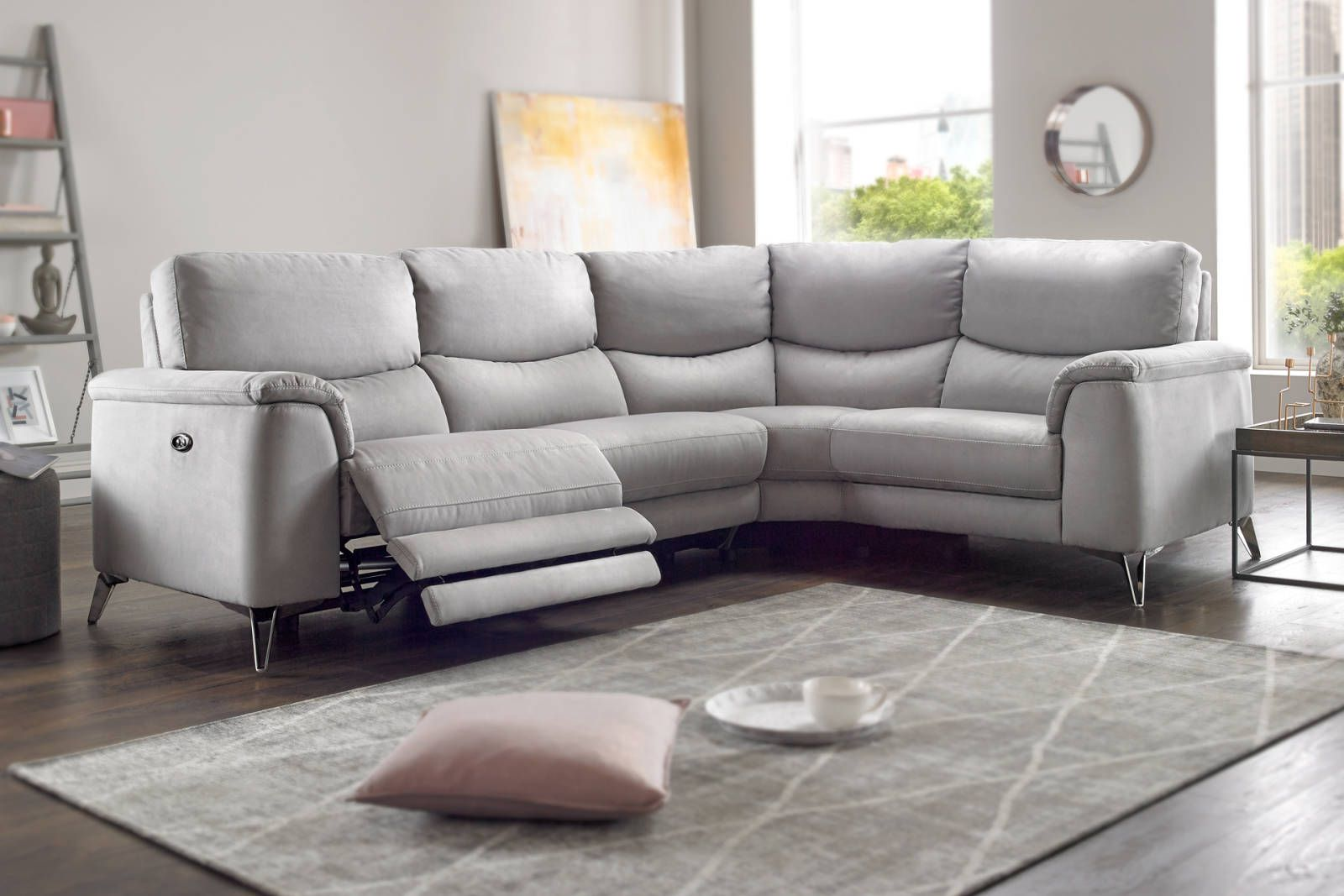 Parma Sofology Corner Sofa Living Room Recliner Corner Sofa Reclining Sofa Living Room