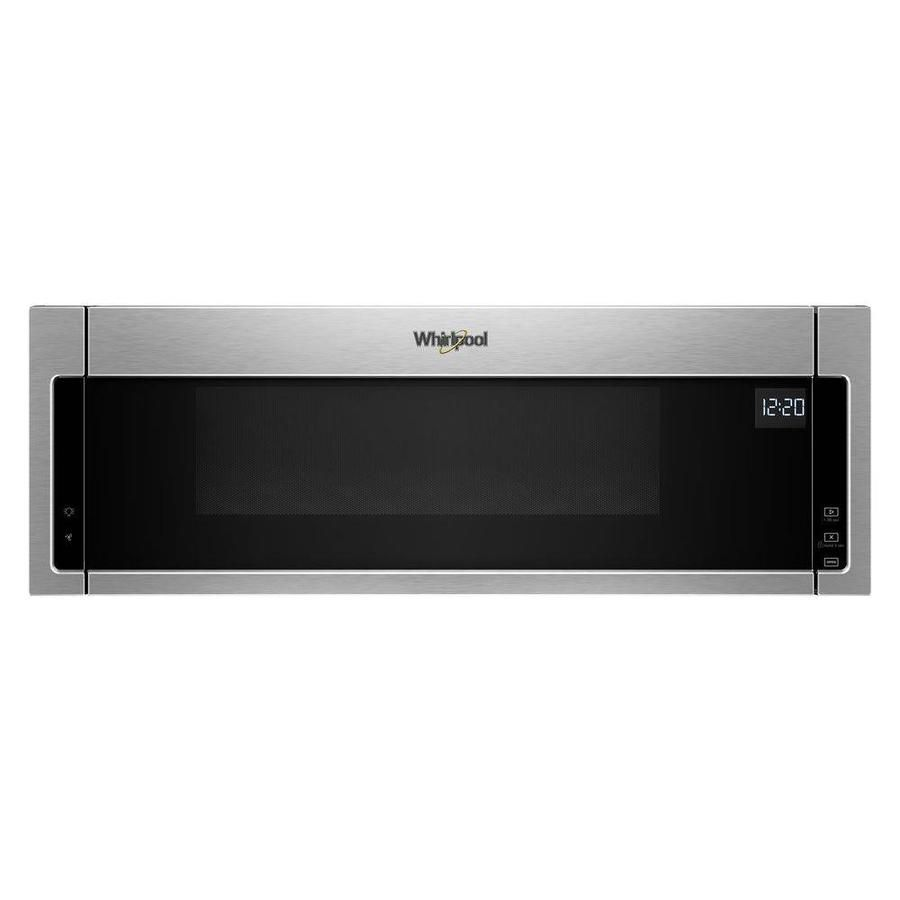 Whirlpool Low Profile 1 1 Cu Ft Over The Range Microwave