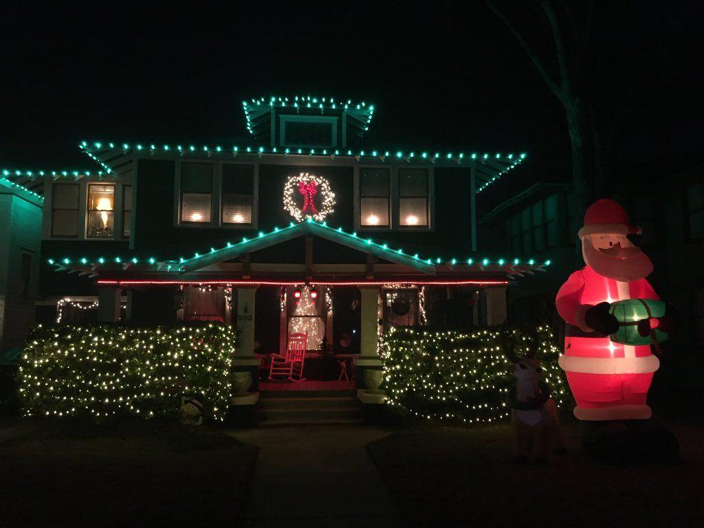 David Haedge On Twitter In 2020 Christmas Lights Fun Slide Broadway Shows