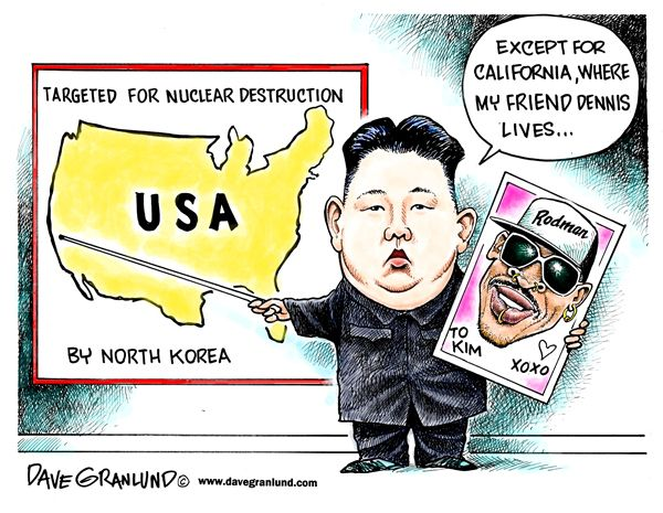 Kim Jong un doesn't want to nuke California because that's ...