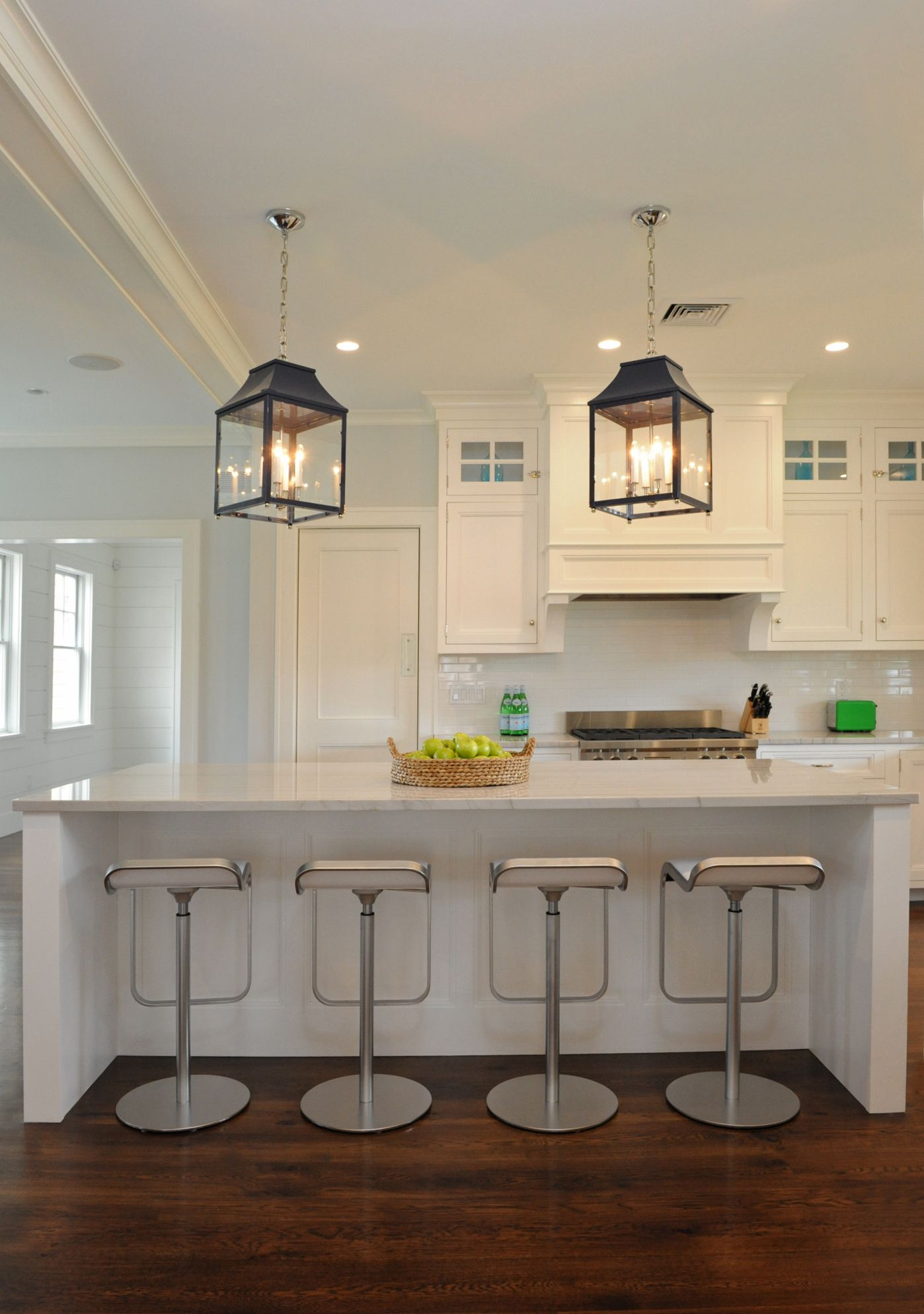 Island Pendants Navy With Lamplight In Same Color Over Kitchen Unique Light Fixtures For Kitchen Design Decoration