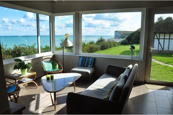Atemberaubende Aussicht! in veulettes sur mer Ferienhaus