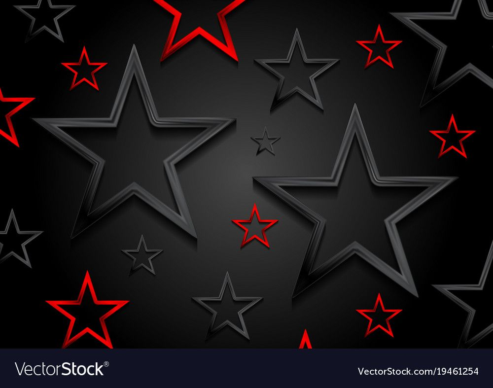 Glossy Red And Black Shiny Stars Background Vector Template Corporate Luxury Art Design Download A Free Previ Star Background Star Wallpaper Galaxy Wallpaper