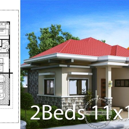 Home Design Plan 6x13m With 5 Bedrooms Home Ideas Small House Design Plans Home Design Plan House Design