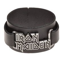 Iron Maiden Real Leather Wriststrap Alchemy Rocks Official Band