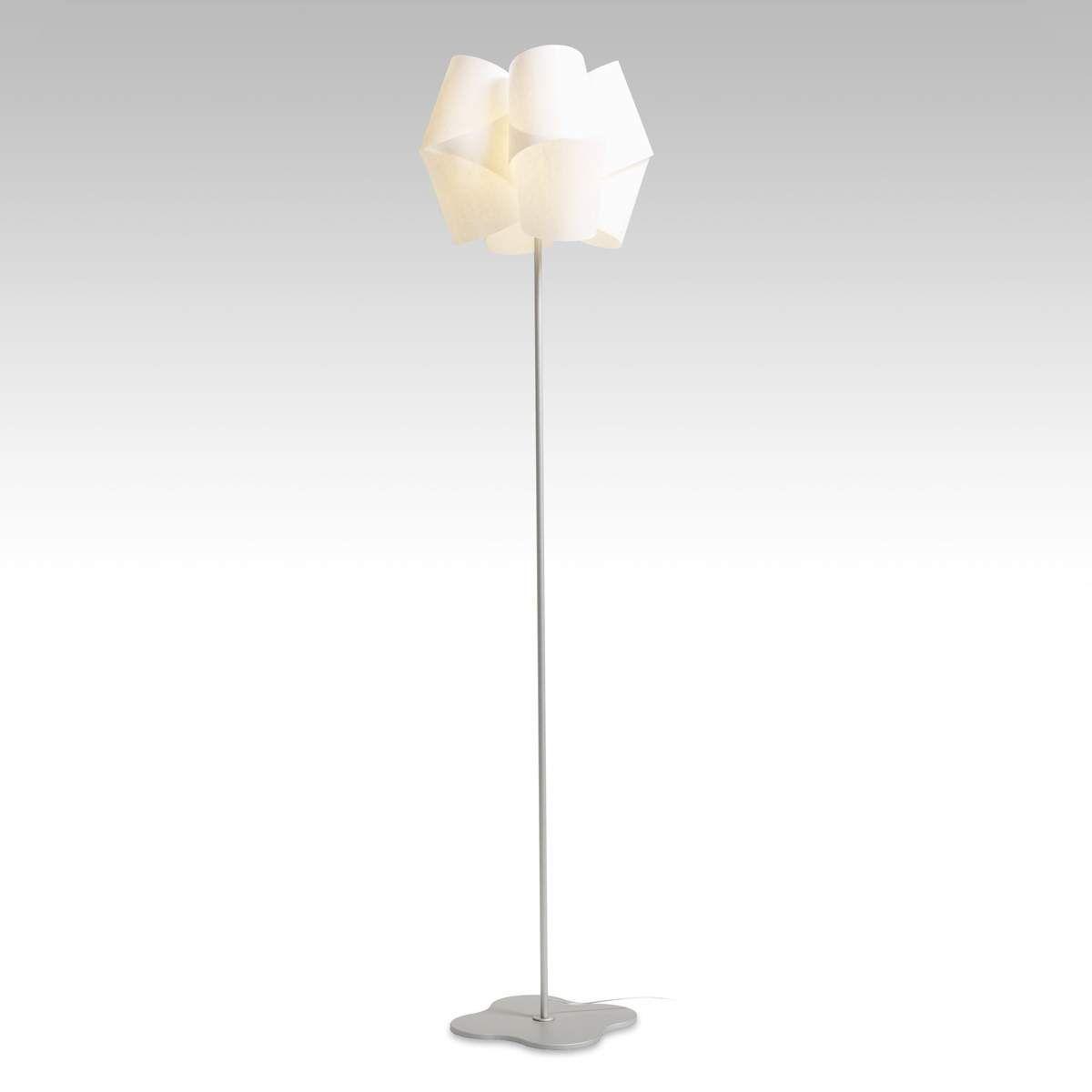 Liebenswert Stehlampe Mit Schirm Dekoration Von Mehreren Schirmen | Brauner | Stehleuchte Retro