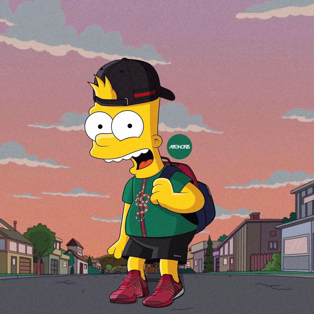 Bart Simpson Iphone Wallpapers Bart Simpson Simpsons Drawings