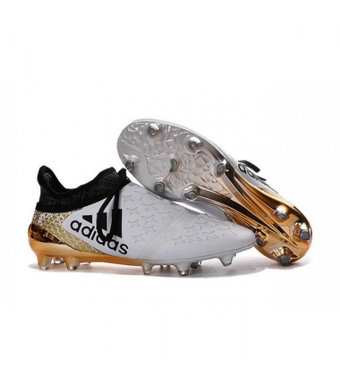 Acheter Homme Adidas X 16 Purechaos Fg Ag Crampons Blanc Or Noir Pas Cher En Ligne 100 00 Sur Http Cramponsdefo Nike Fußballschuhe Fußballschuhe Stiefel