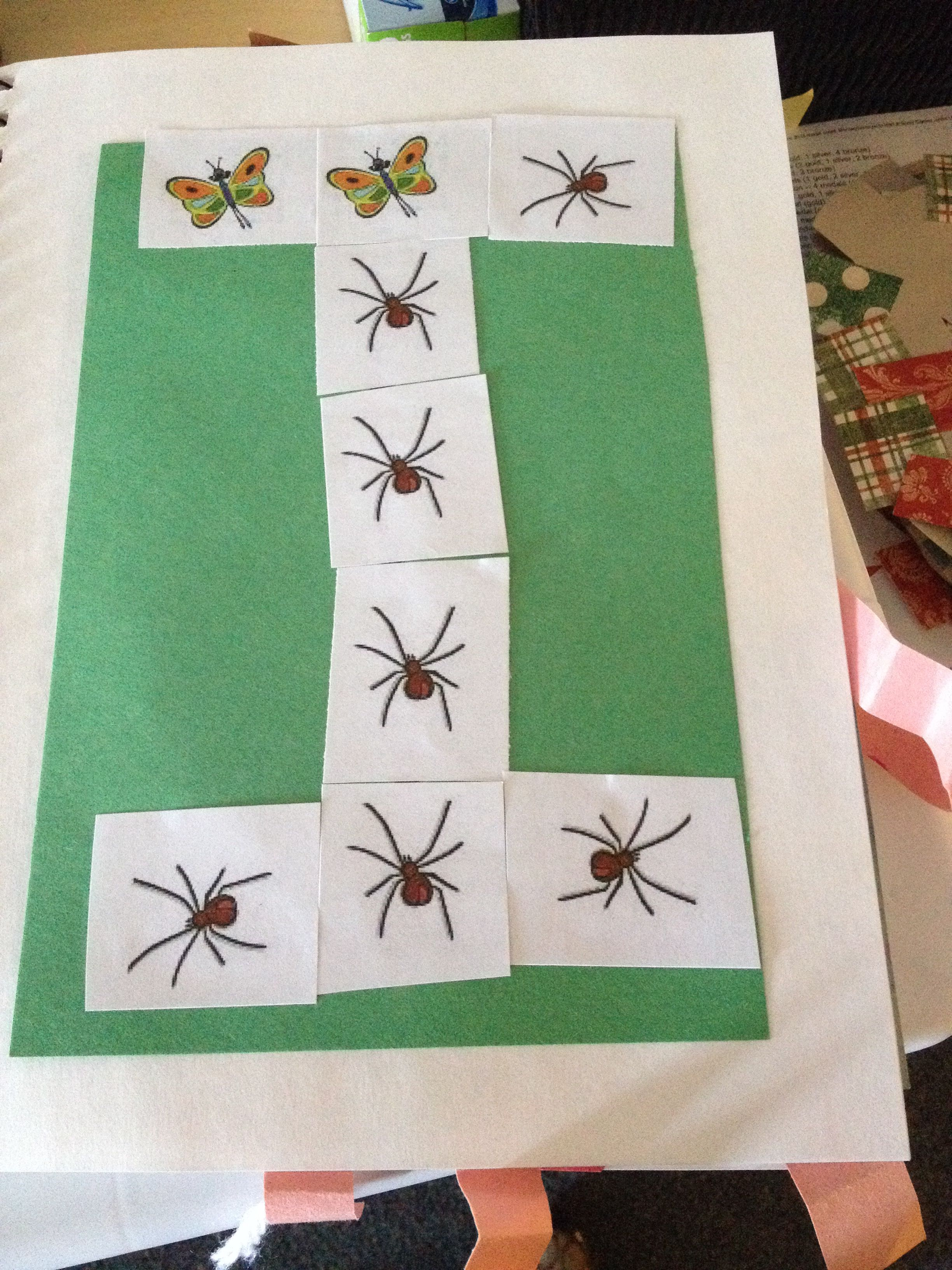 I Is For Insect Preschool Alphabet Journal