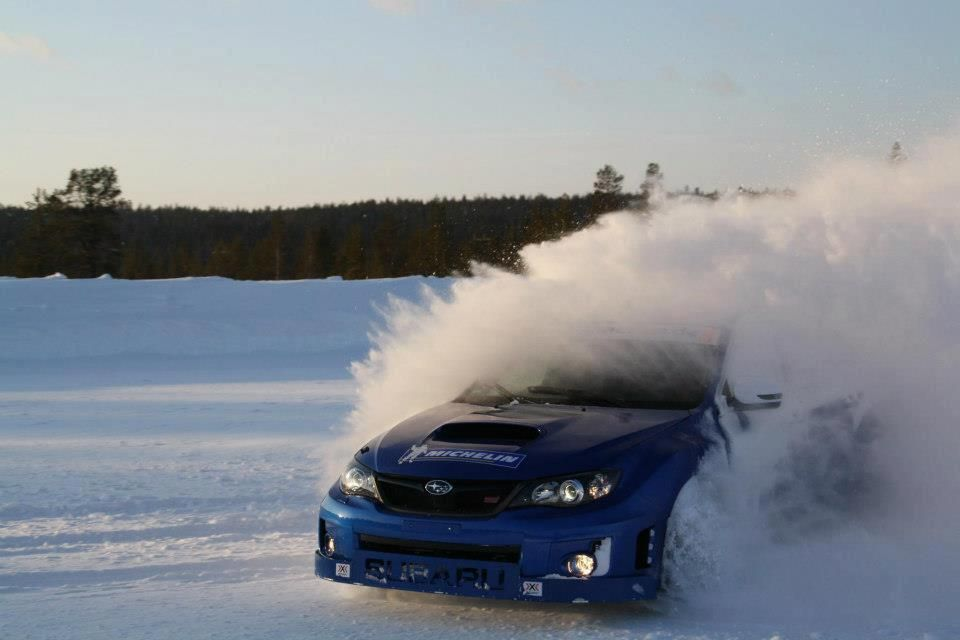 Ethän aja talvella tähän tyyliin työpaikkasi parkkipaikalle? Subaru WRX STI Visit us for #Tuned and #Modified #Whips #Subarus www.rvinyl.com/Subaru-Accessories.html