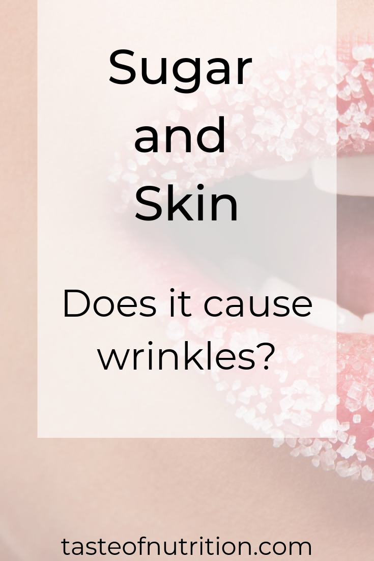 Sugar and Skin Does it Cause Wrinkles Senior health