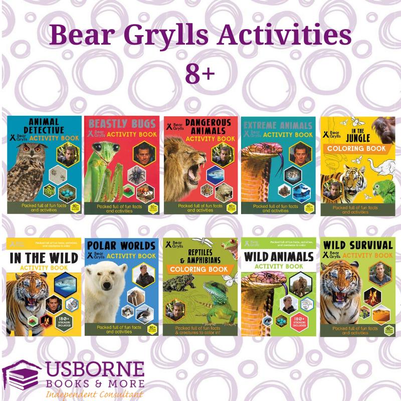 Usborne Bear Grylls In 2020 Usborne Books Usborne Book Activities