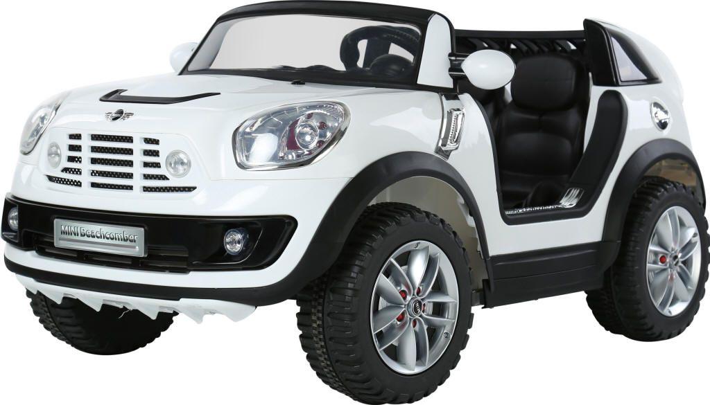 venta coche batera para nios v mini beachcomber plazas rc color blanco indalchess
