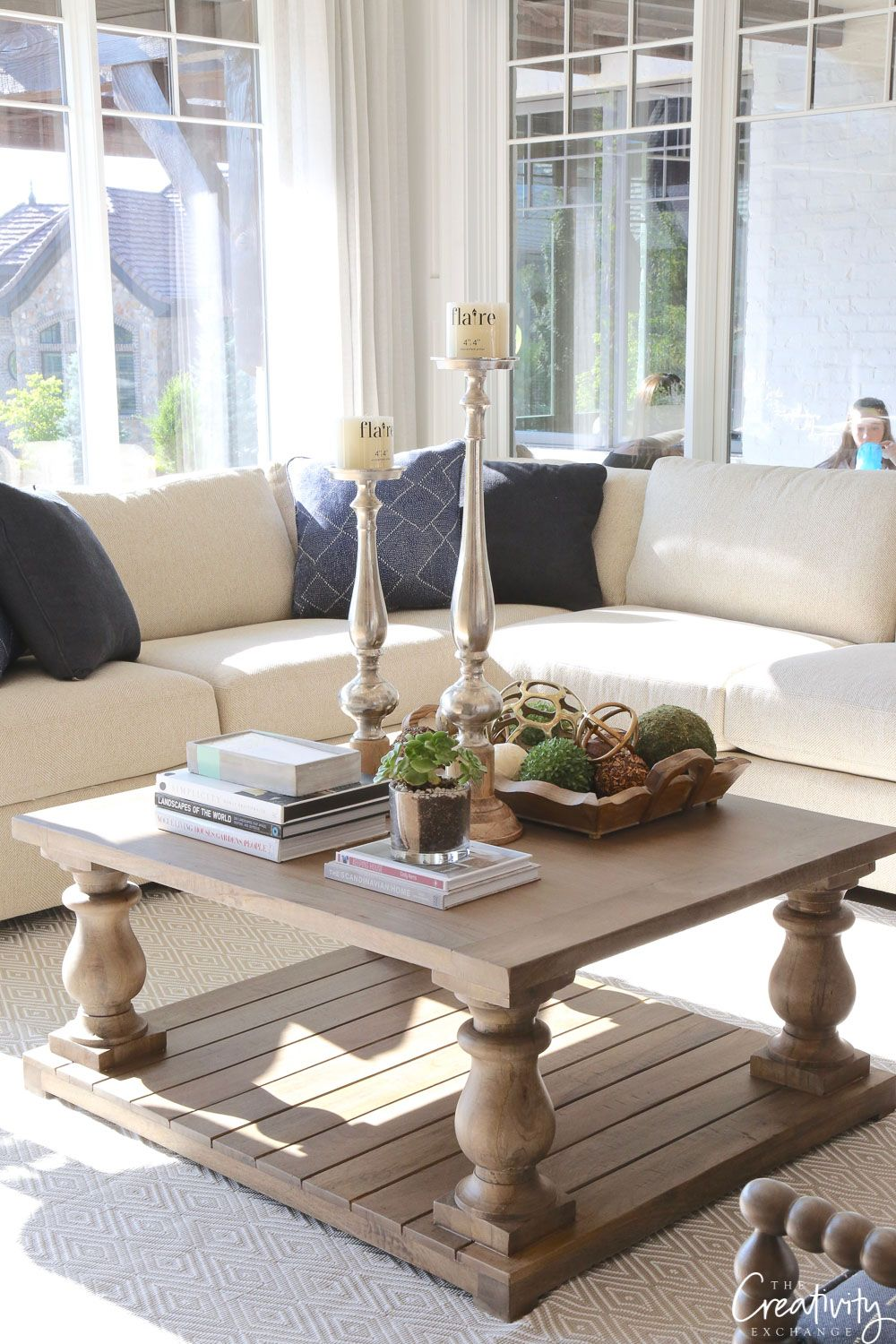 Choosing The Perfect Coffee Table Living Room Decor Above C