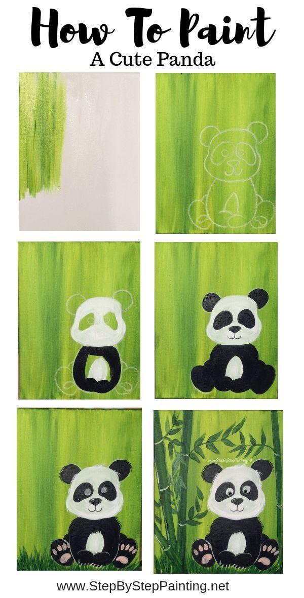 Wie man einen Panda malt - #einen #malt #man #Panda #Wie #hollywoodmen