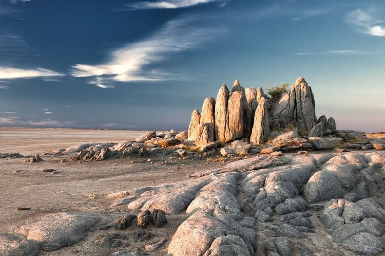 Kubu Island A Desert Island Of Baobabs And Ancient Fossils