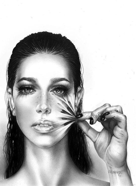 Pencil art by Rebecca Blair – R-becca