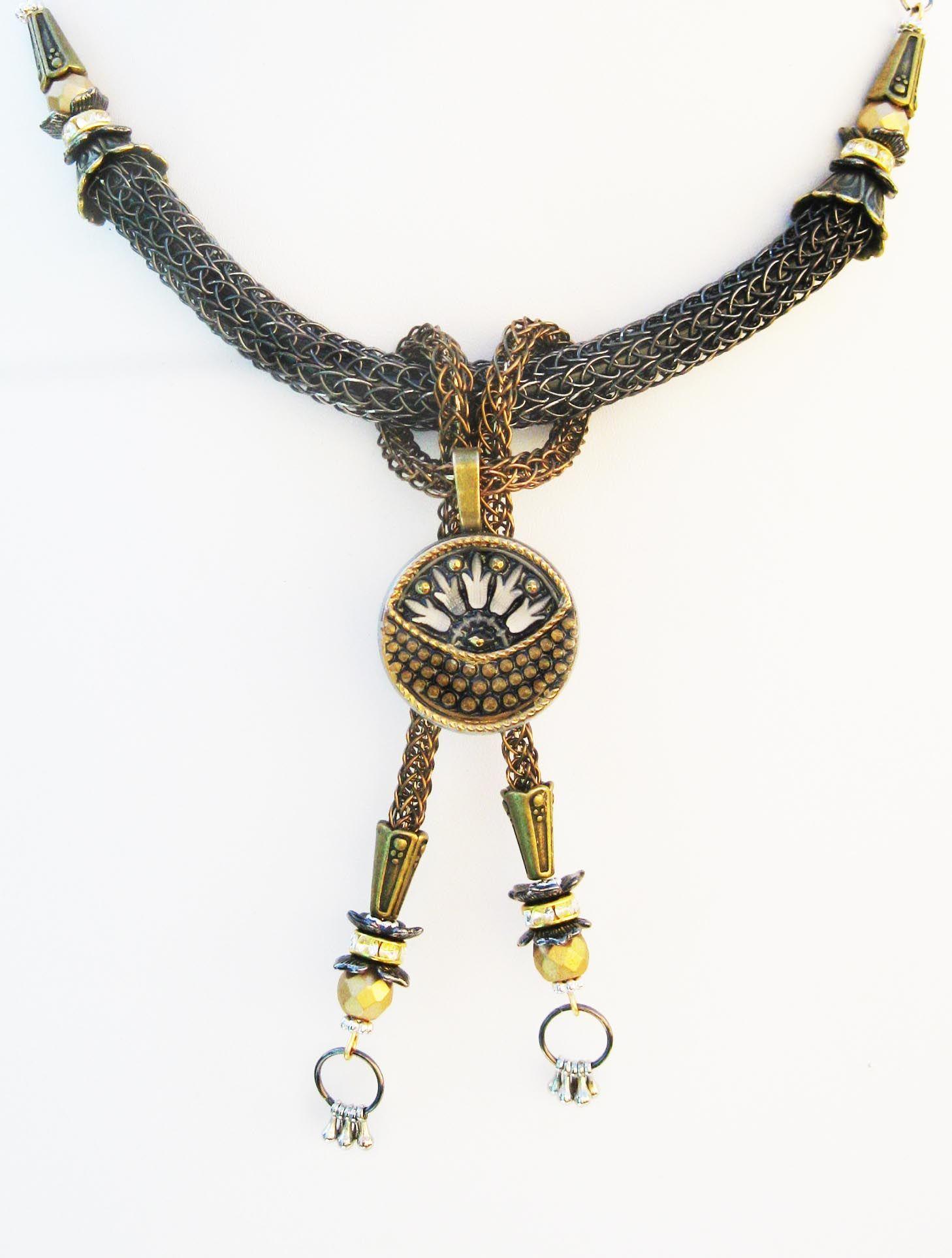Art Deco Viking Knit | Wire jewelry | Pinterest | Viking knit ...