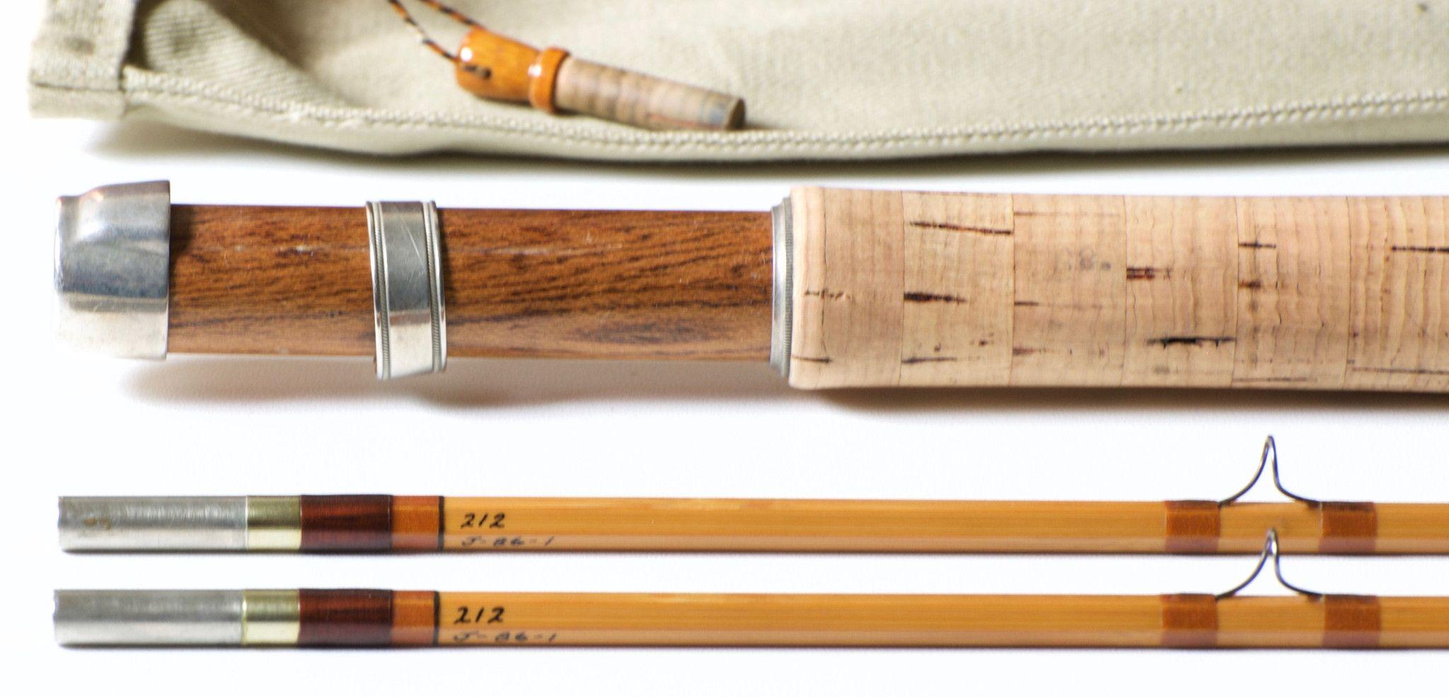 Carmichael, Hoagy -- Model 212 Bamboo Rod - Vintage Fly Tackle
