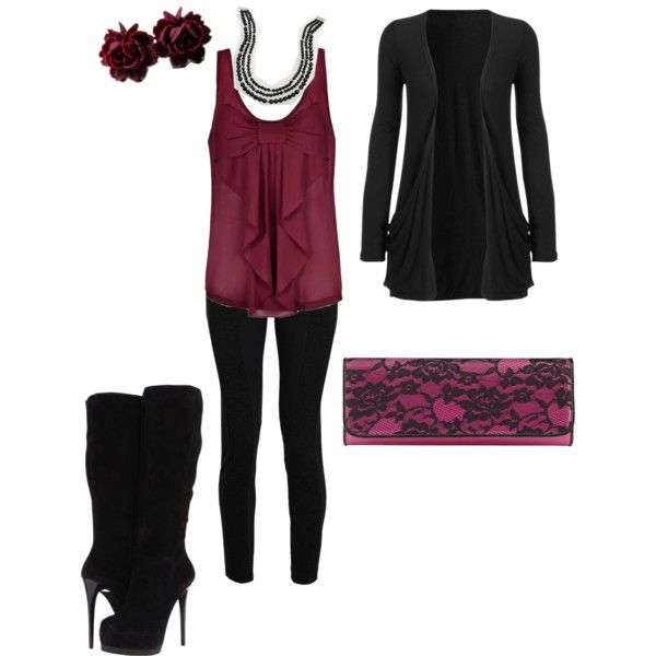 U0026quot;edgy but dressyu0026quot; by elizabeth-nixon on Polyvore | Clothes | Pinterest | Clothes Polyvore and ...