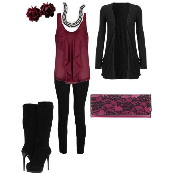 U0026quot;edgy but dressyu0026quot; by elizabeth-nixon on Polyvore | Clothes | Pinterest | Clothes Polyvore and ...