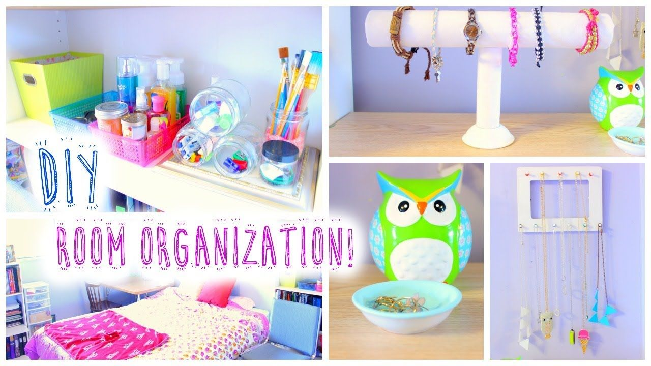 Diy Room Organization For Summer Cute Colours Diy Projects