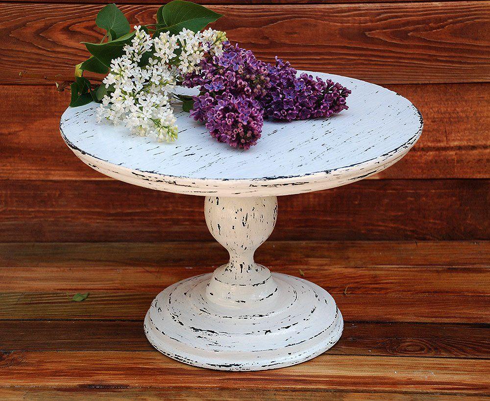 618 wooden cake standrustic white cake standwedding