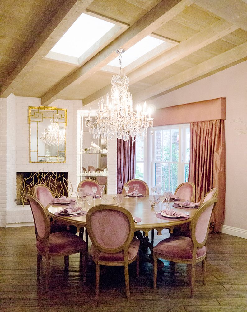 take a peek inside real housewives of beverly hills star kyle richards gorgeous bel air home