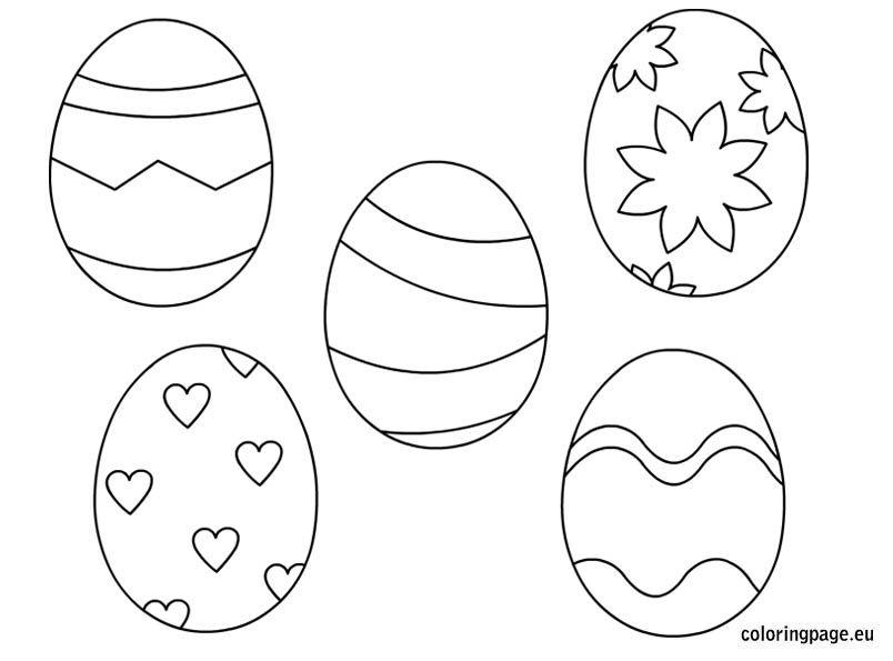 Husvet Tavasz Mintaiv Sablon Malvorlagen Ostern Ausmalbilder Ostern Osterei Ausmalbild